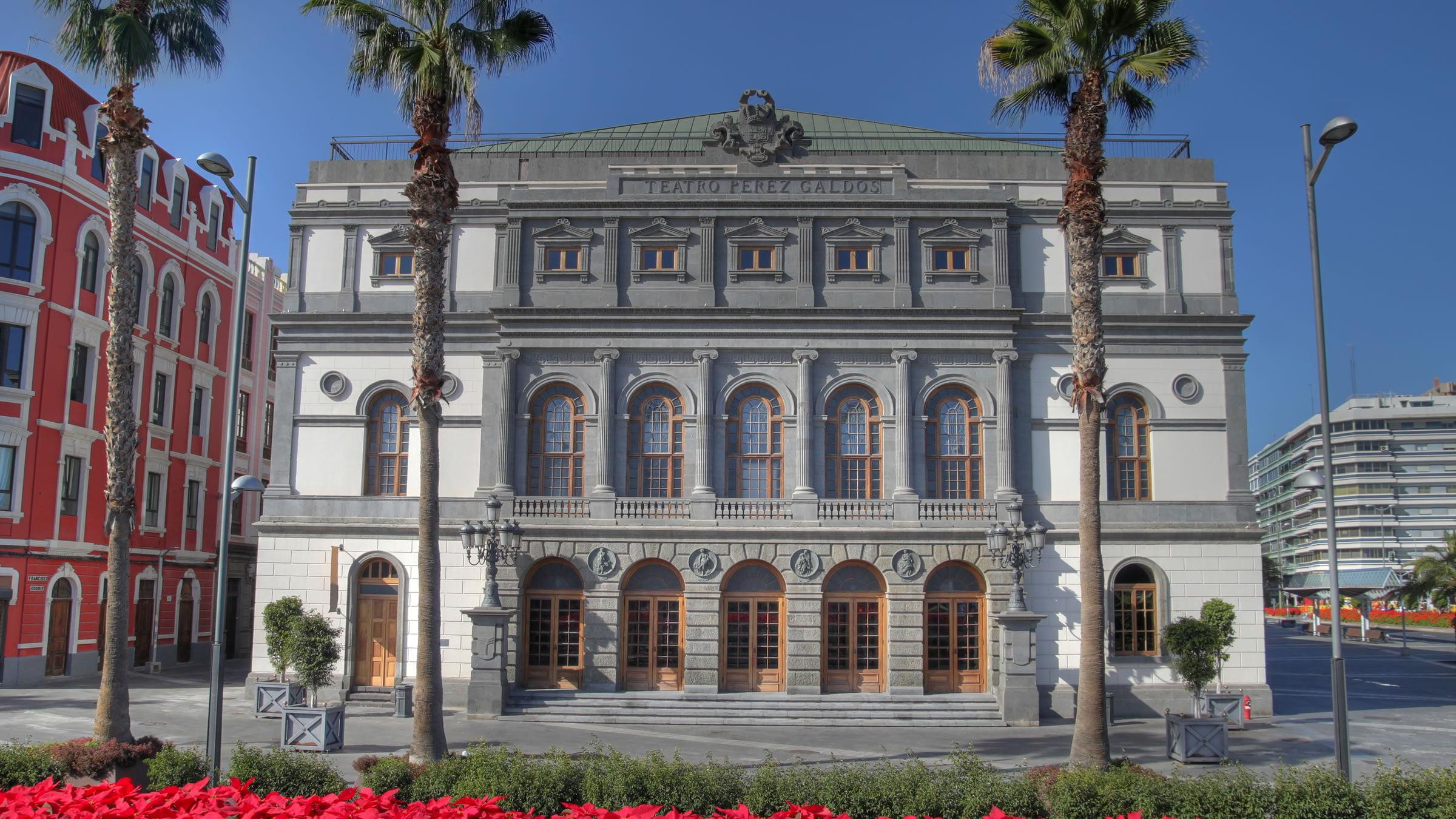 Teatro p rez gald s las palmas de gran canaria espa a for Arquitectura las palmas