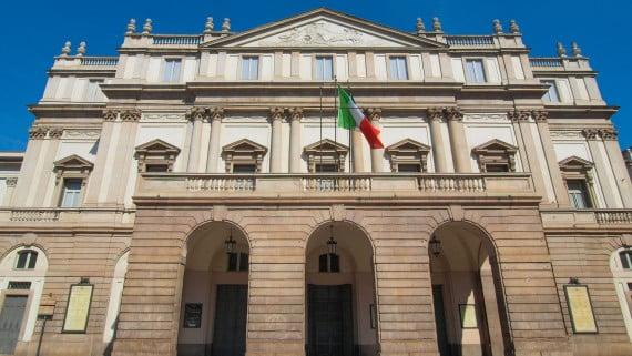 Teatro alla Scala、ミラノ、イタリア