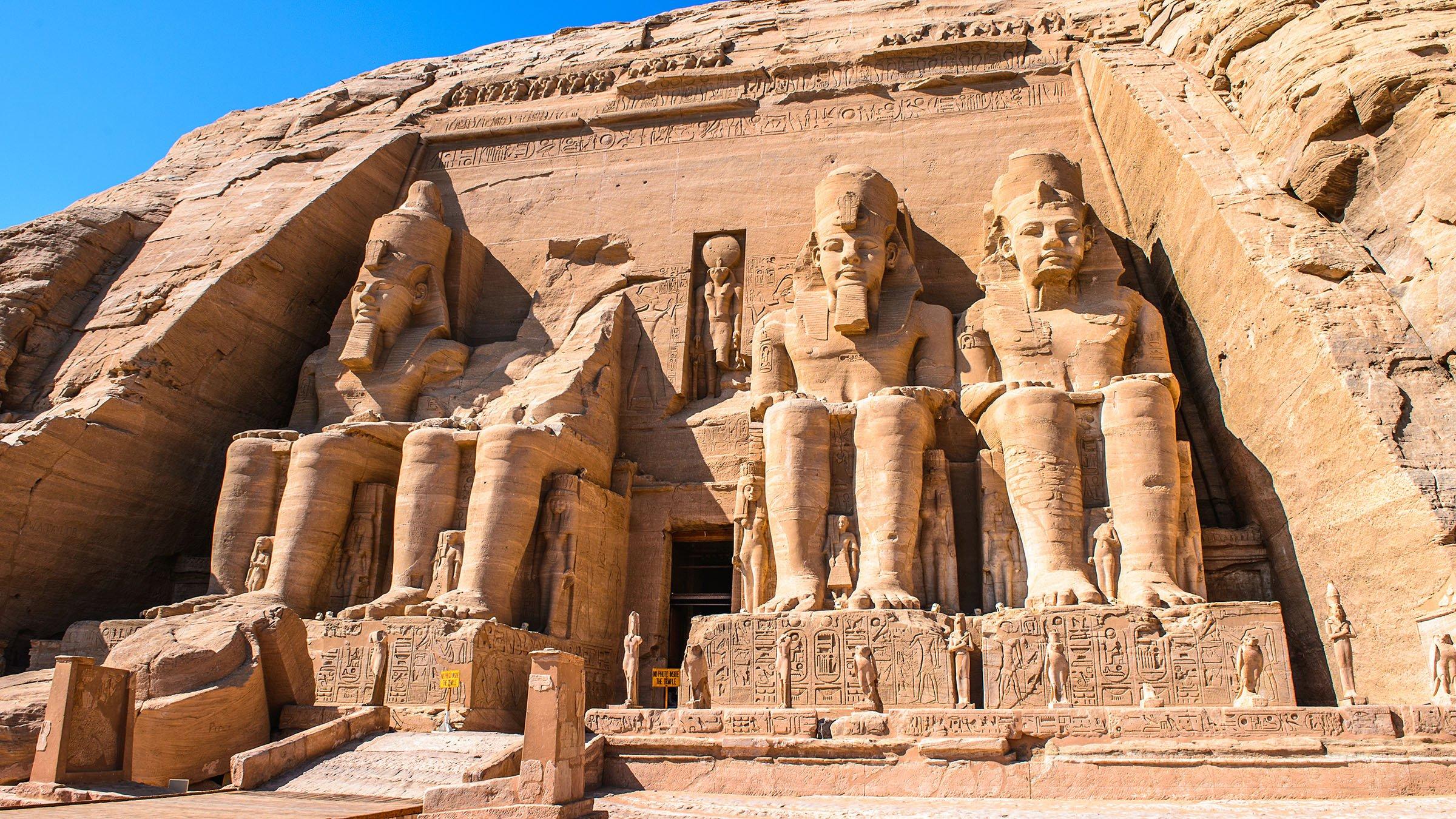Templo de rams s ii abu simbel egipto for Arquitectura egipcia