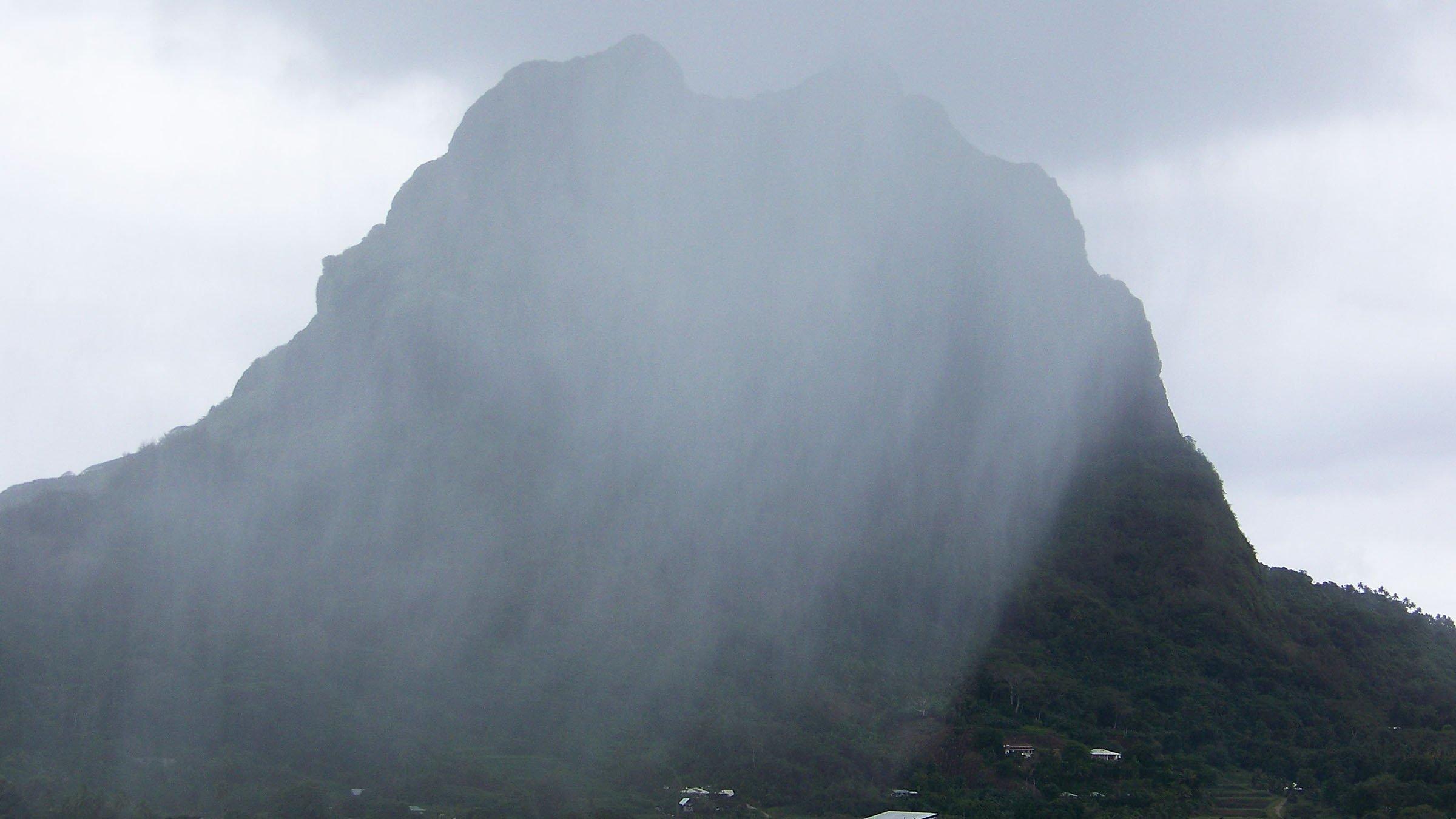 Temporada humeda de Tahiti