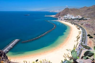 Tenerife playa parte norte