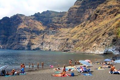 Tenerife playa de Los Guios