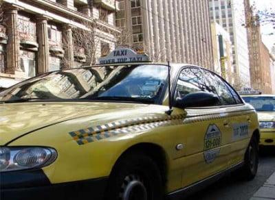 Terminal de Taxi en Melbourne
