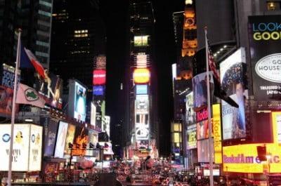 Times Square en Nueva York