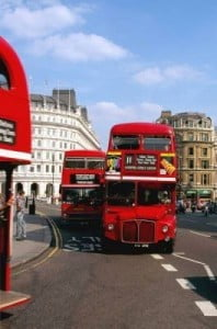 Tour por Londres bus rojo