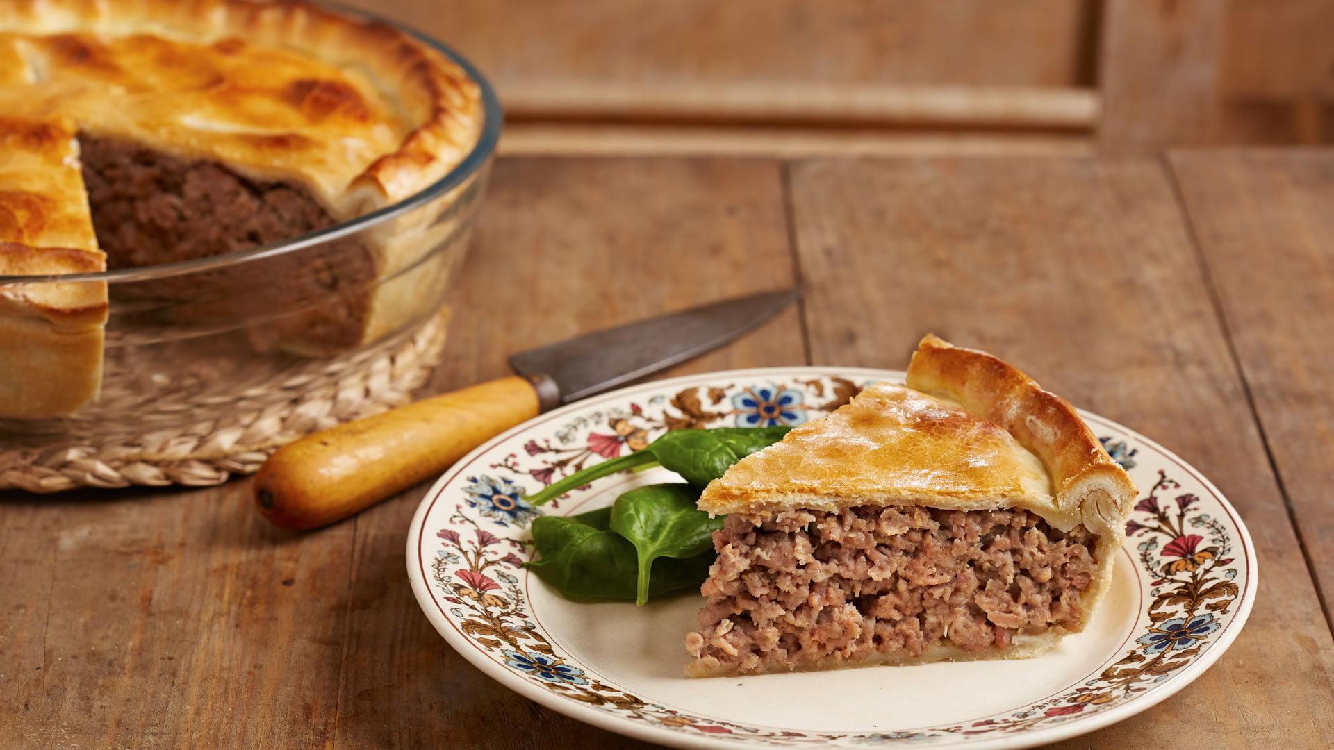 Tourti re de quebec for Cocina tradicional definicion