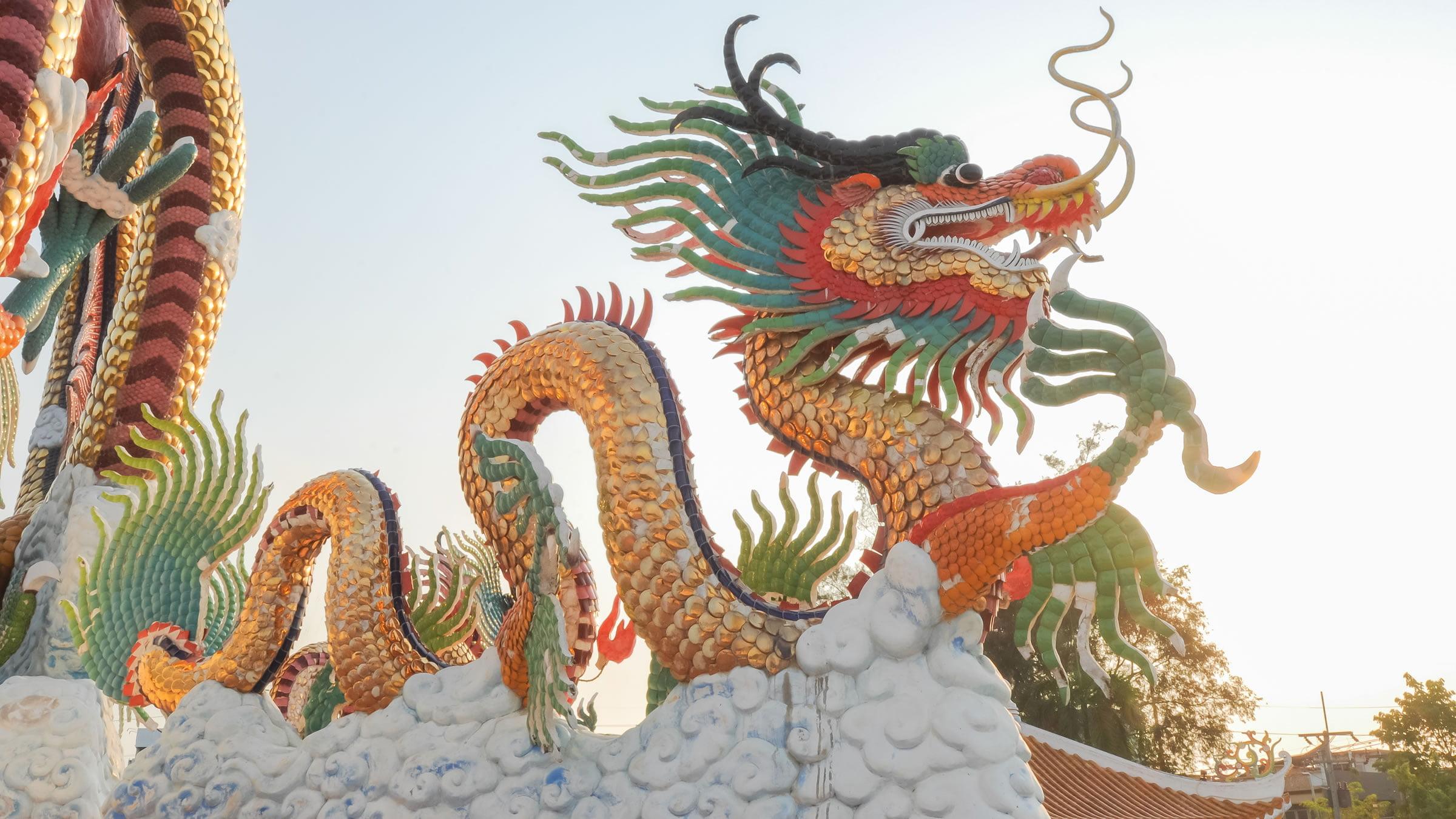 Tradición china del dragón