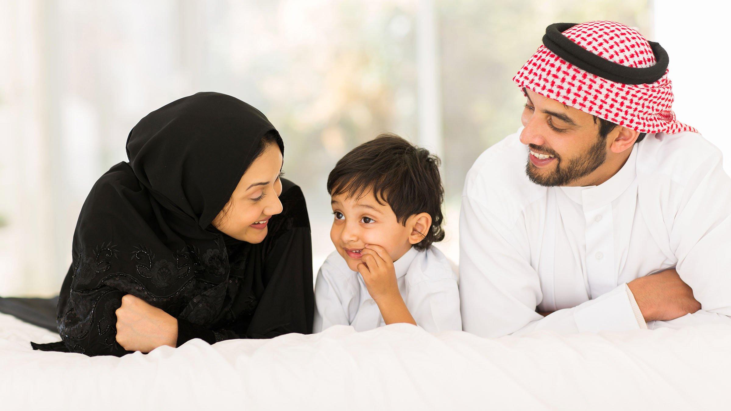 Tradiciones Árabes familia