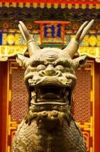 Tradiciones China dragón