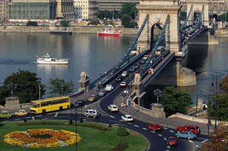 Trafico en el Danubio