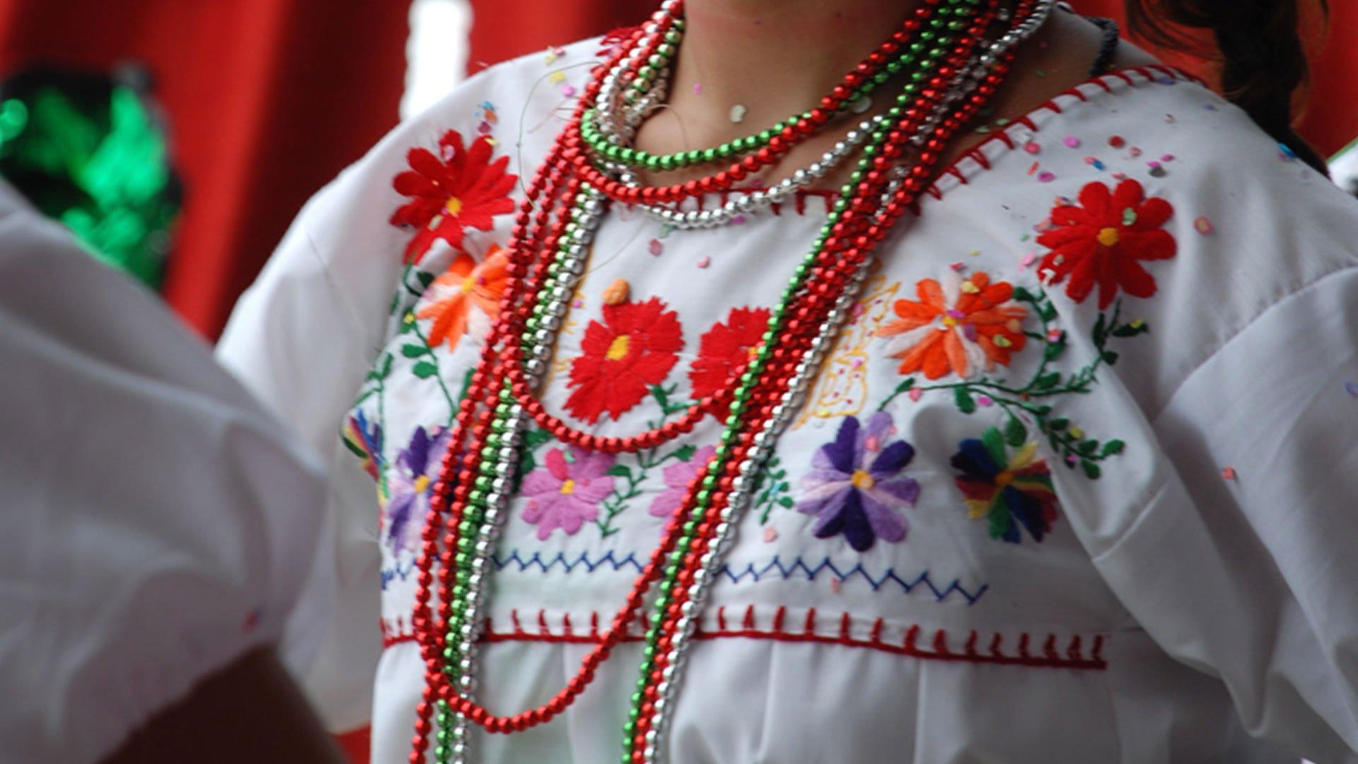traje de china poblana