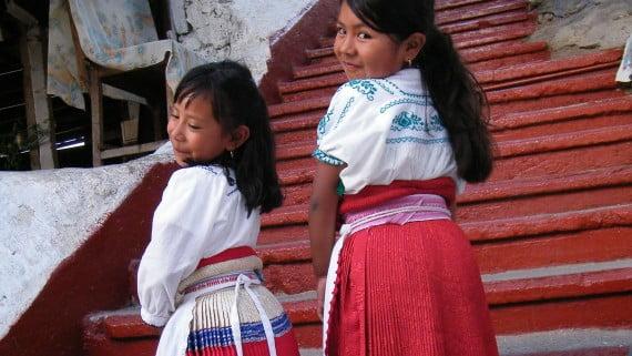 Michoacánen mozorro tipikoa