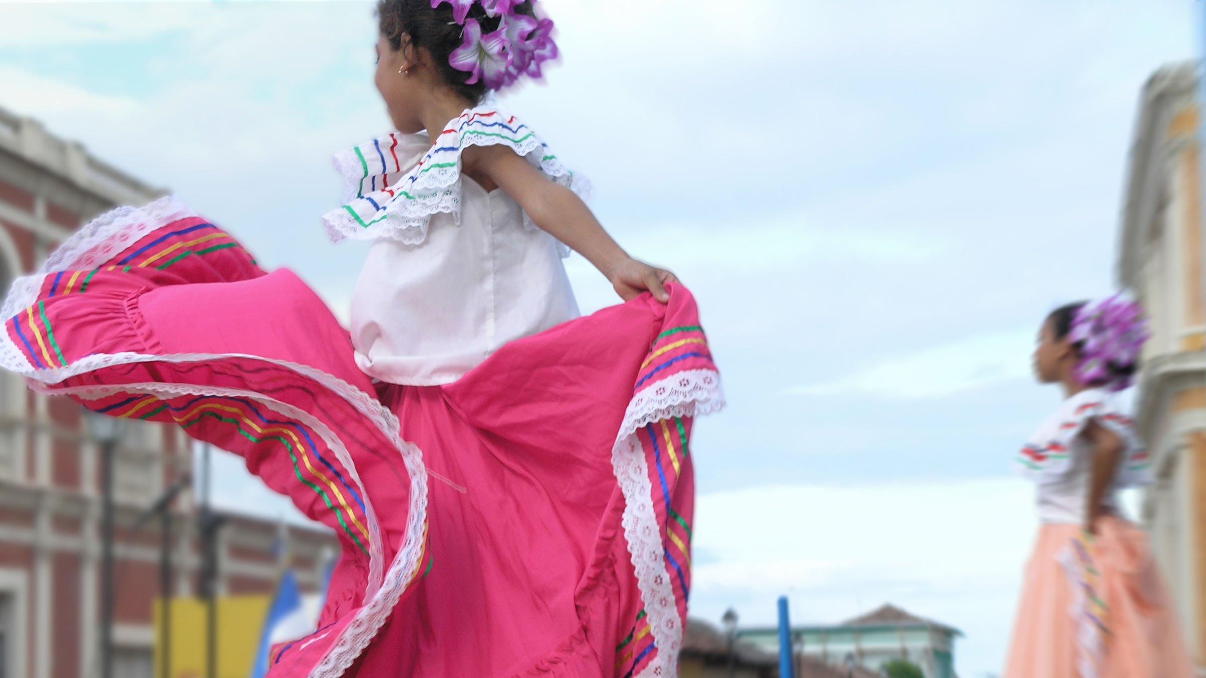 Traje típico de Nicaragua