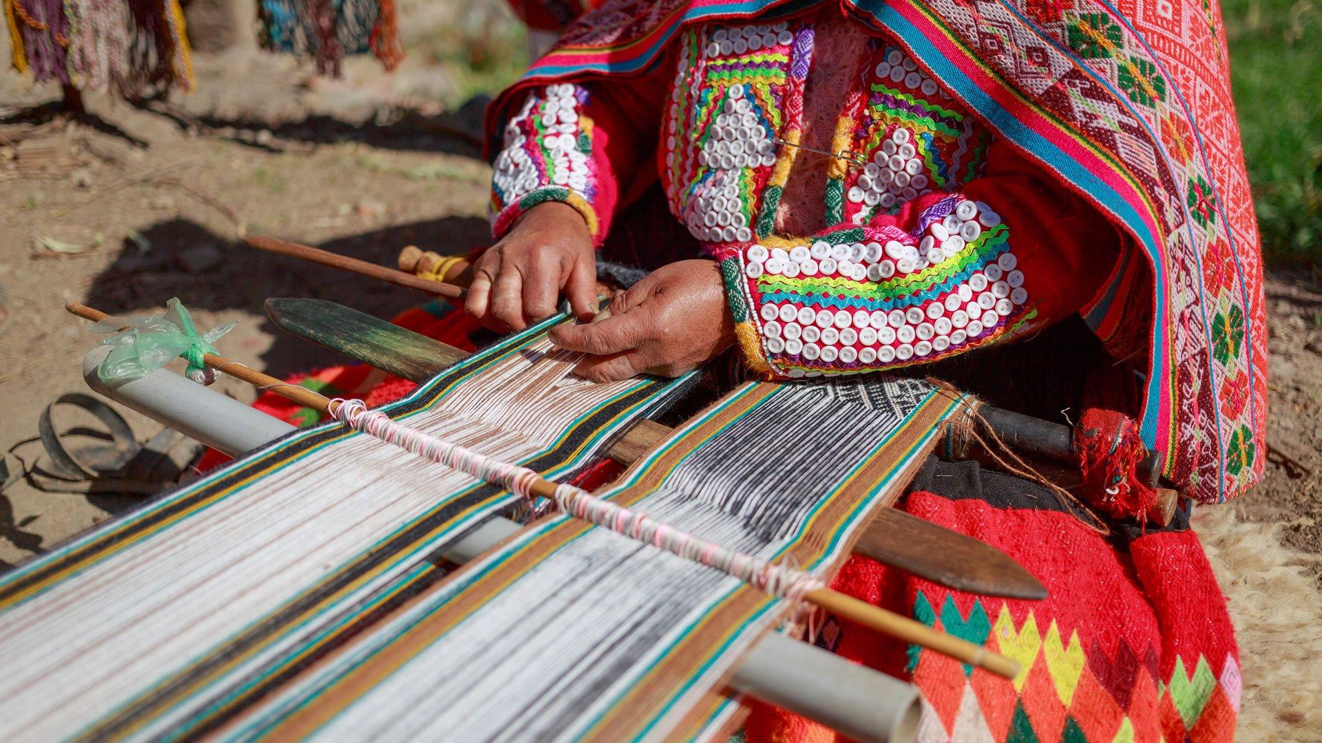 Traje típico de la región andina