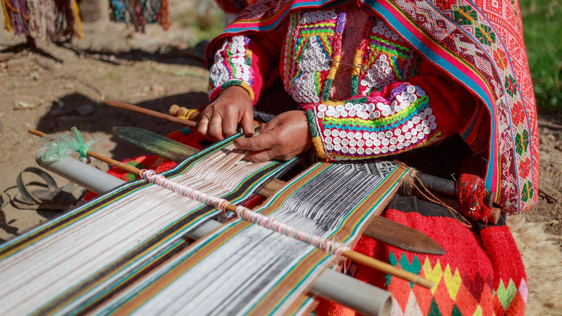 Traje típico andino