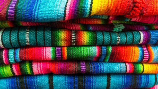 典型的なニカラグアの衣装