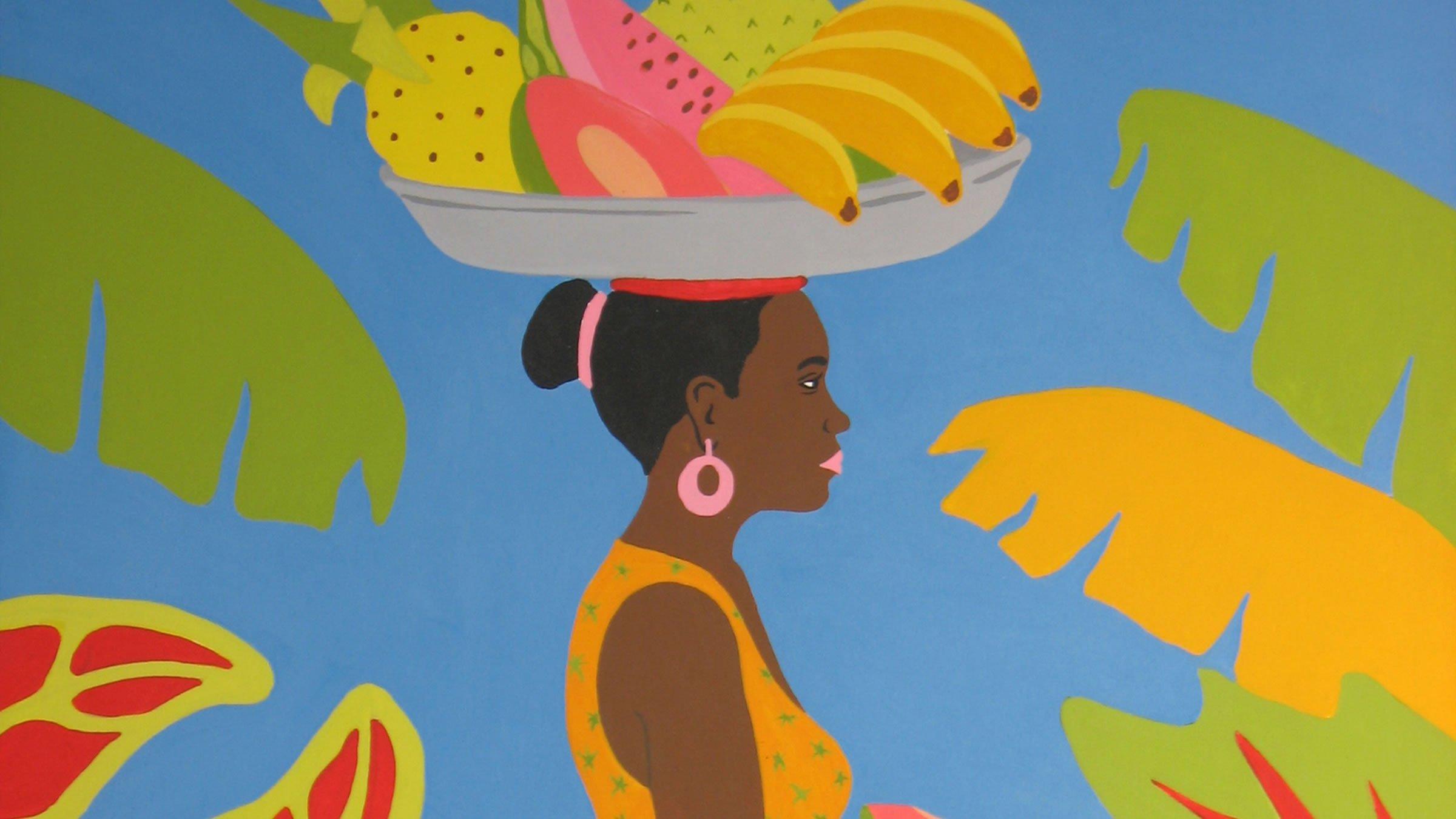 Traje típico de la región caribe
