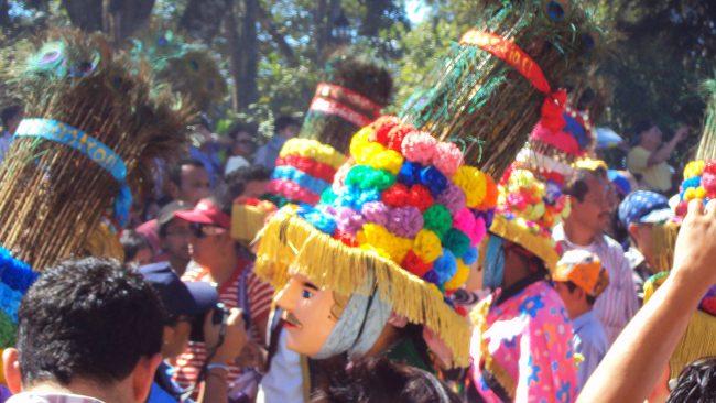 ニカラグアのカラソの典型的なコメディ、エルグエグエンセ