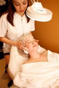 Tratamientos spa terapia facial