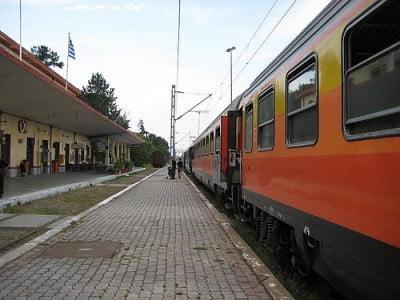 Tren Balkan Grecia