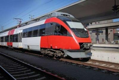 Tren en la estacion