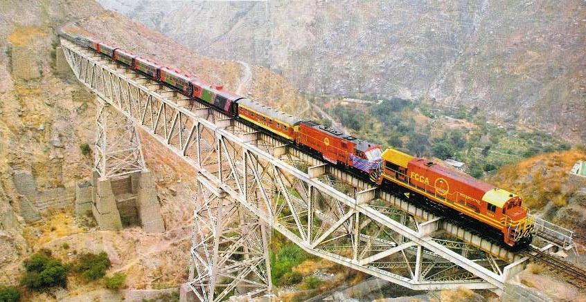 Tren lima huancayo