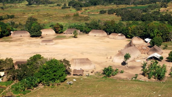 Kamayura tribe in Matto Grosso (Brazil)