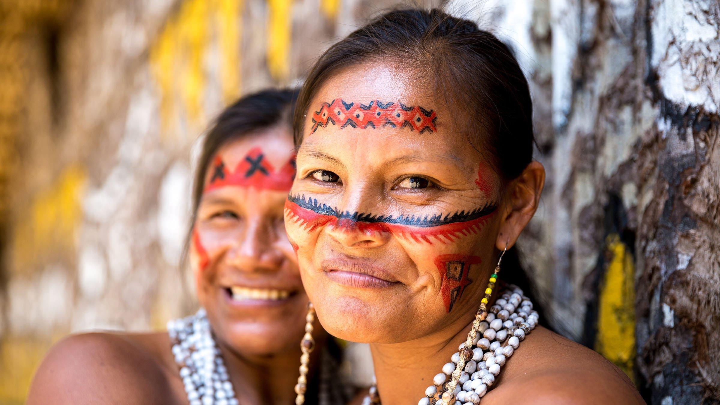 Tribus con dialectos brasilenos