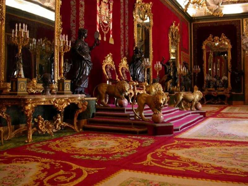 Sala del Trono, Palacio Real de Madrid