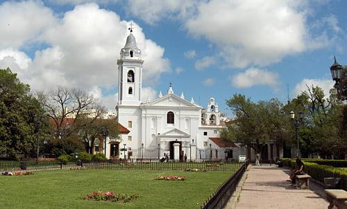 Turismo en Buenos Aires - Basilica Nuestra Señora del Pilar
