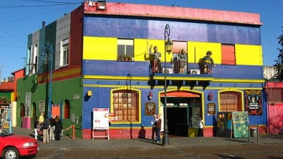 Turismo en Buenos Aires - Caminito