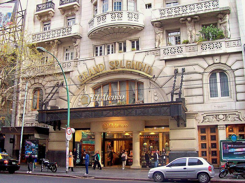 Turismo en Buenos Aires - El Ateneo Grand Splendid