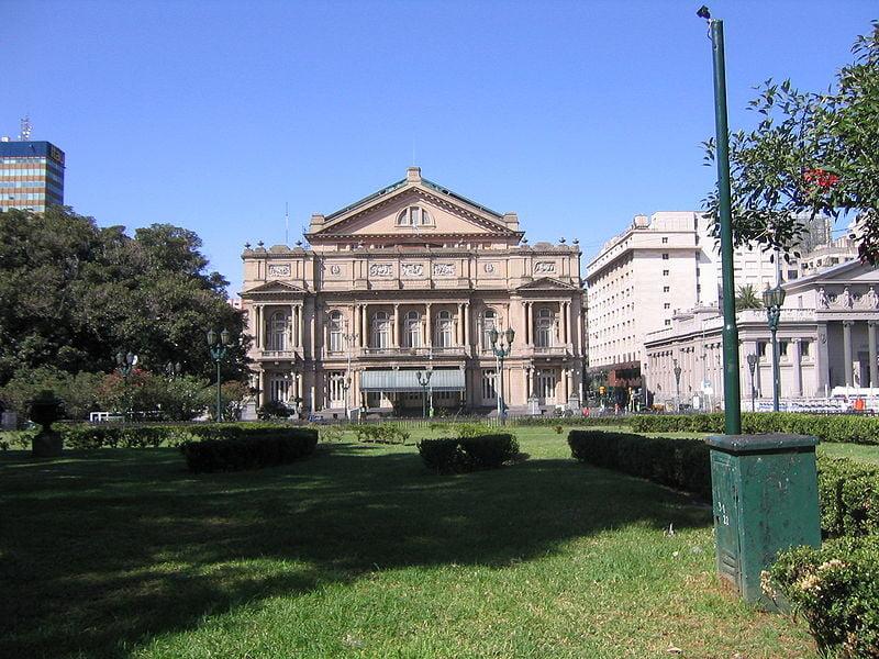 Turismo en Buenos Aires - Teatro Colon