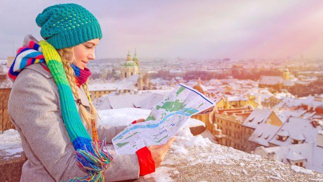 冬天去布拉格