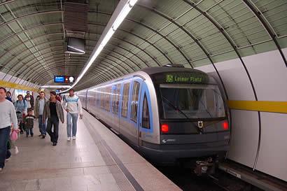 U-Bahm de Munich