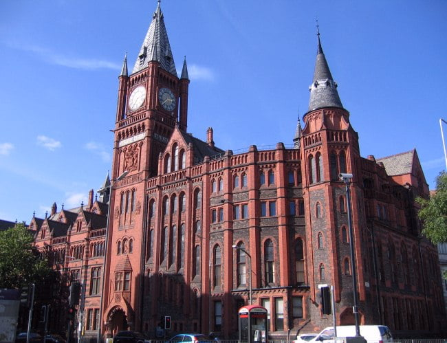 Universidad de Liverpool-Inglaterra