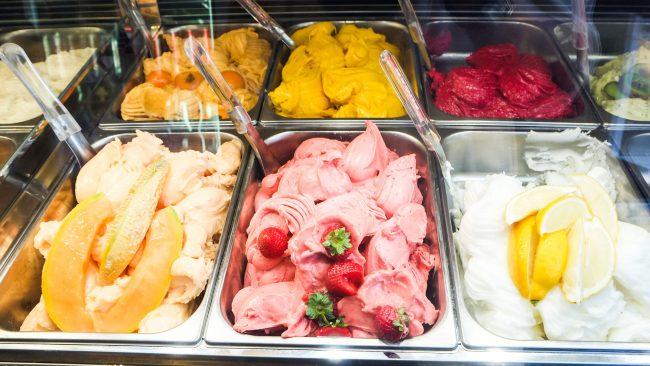"""El """"gelato"""" para combatir el calor del verano en Roma"""