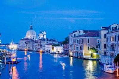 Venecia al atardecer