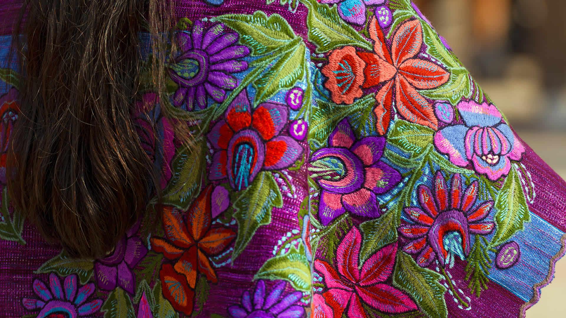 Vestimenta típica de Chiapas, México