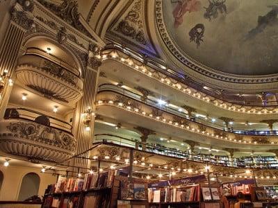 Viajar a Buenos Aires - Fotos de El Ateneo
