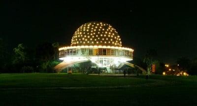Viajar a Buenos Aires - Iluminacion Planetario Galileo Galilei
