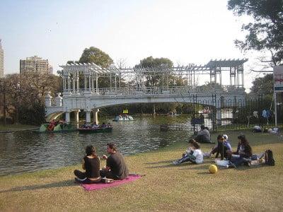 Viajar a Buenos Aires - Puente El Rosedal