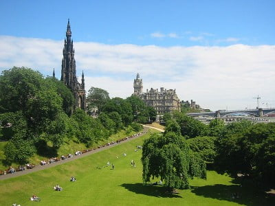 Viajar a Edimburgo