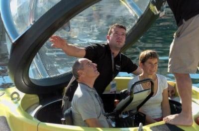 Viajar en submarino de lujo