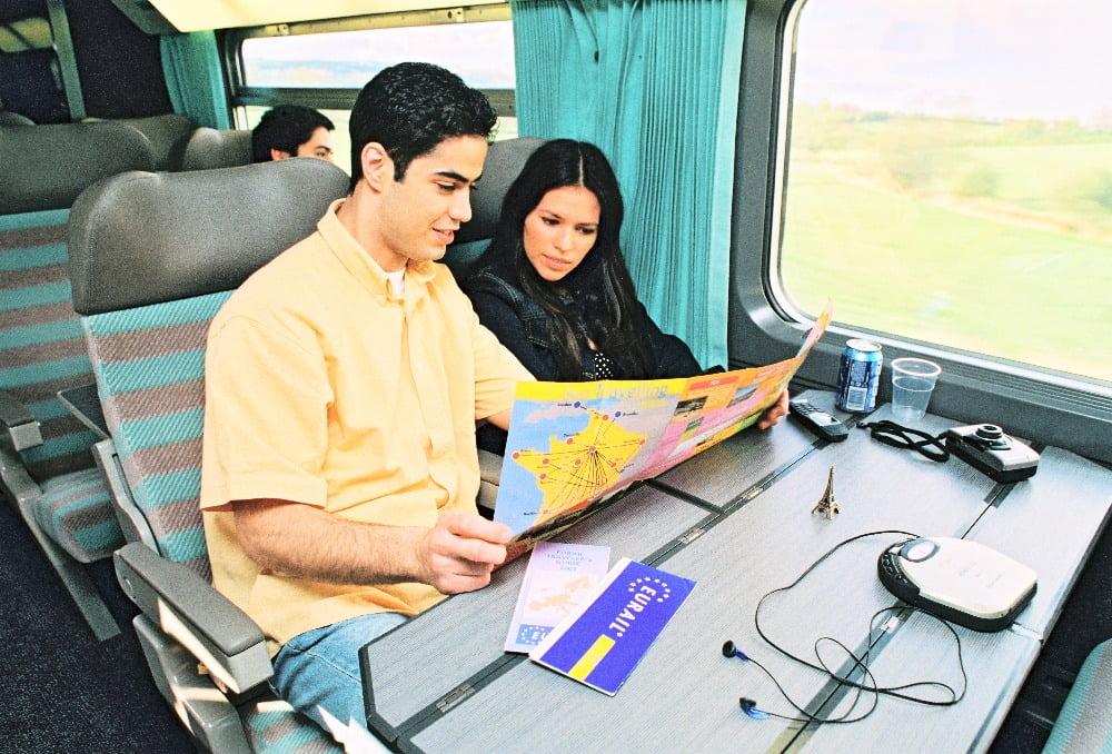 Viajar por Europa en tren