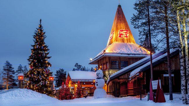 Villa de Santa Claus en Rovaniemi, Finlandia