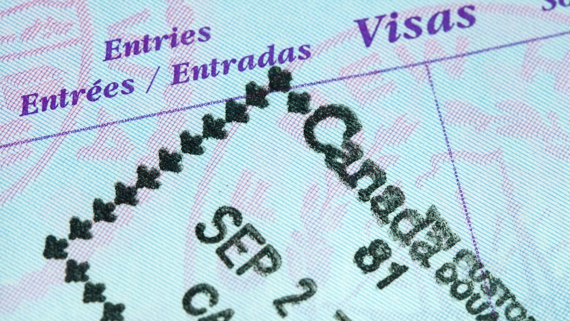 Visa válida de Canadá, Australia, Nueva Zelanda o Estados Unidos