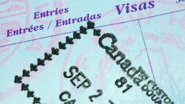 Visado para viajar a Canadá