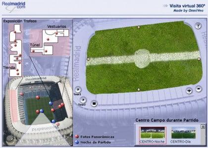 Visita virtual al Santiago Bernabéu