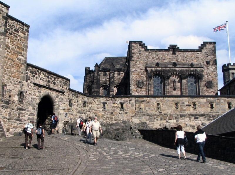 Visitando Castillo de Edimburgo